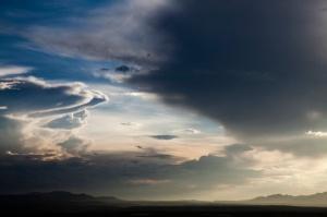 high desert sky